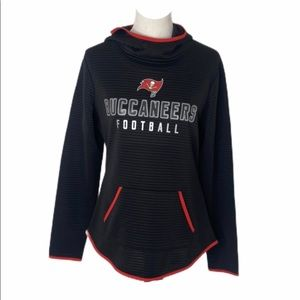 Women's sz medium nfl tampa bay buccaneers hoodie